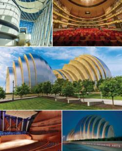 Kauffman Center Collage Jigsaw Puzzle