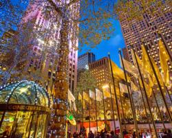 Rockefeller Center Landmarks Jigsaw Puzzle