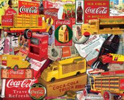 Delivering a Classic (Coca Cola) Coca Cola Jigsaw Puzzle