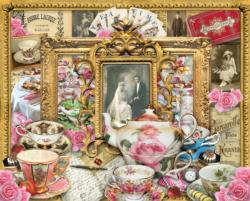 Tea for Two Collage Jigsaw Puzzle