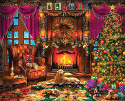 Cozy Christmas Christmas Jigsaw Puzzle