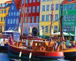 Copenhagen Waterfront Europe Jigsaw Puzzle