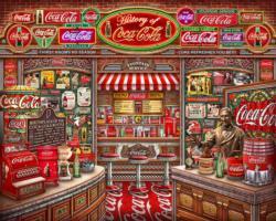 Coca Cola History Coca Cola Jigsaw Puzzle