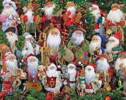 Santa Collection Christmas Jigsaw Puzzle