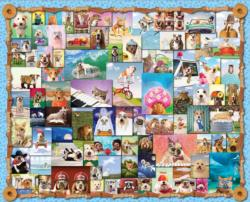 Animal Quackers Collage Jigsaw Puzzle