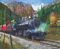Timber Pass Trains Jigsaw Puzzle