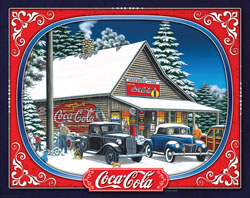 Coca-Cola Holiday Tidings Coca Cola Jigsaw Puzzle
