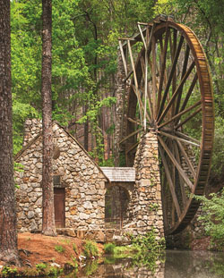 Water Wheel Lakes / Rivers / Streams Jigsaw Puzzle