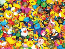 Funny Duckies Everyday Objects Jigsaw Puzzle