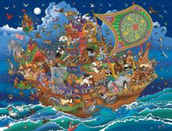 Noah'S Ark Adventure Boats Jigsaw Puzzle
