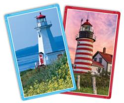 Lighthouses Standard Index Playing Cards