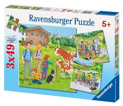Family Holidays Cartoons Children's Puzzles