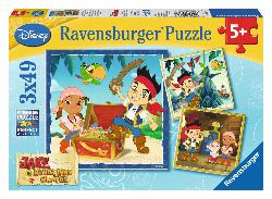 Jake's Pirate World (Jake and the Neverland Pirates) Pirates Children's Puzzles
