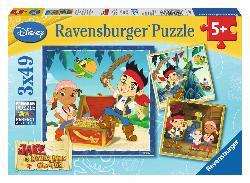 Jake's Pirate World (Jake and the Neverland Pirates) Pirates Children's Puzzles