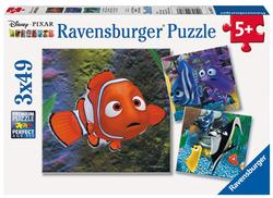 In the Aquarium Cartoons Children's Puzzles