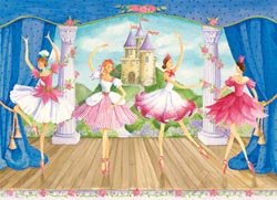 Fairytale Ballet Dance Children's Puzzles