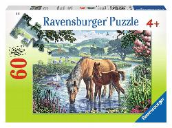 Mother and Foal Baby Animals Children's Puzzles