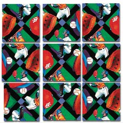 Baseball Baseball Non-Interlocking Puzzle