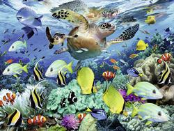 Underwater Paradise Fish Children's Puzzles