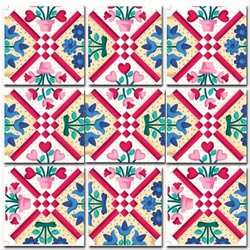 Quilt Crafts & Textile Arts Non-Interlocking Puzzle