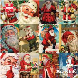 St. Nick Christmas Jigsaw Puzzle