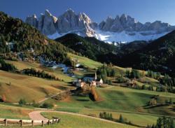 Dolomite, Italy Mountains Jigsaw Puzzle