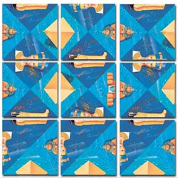 Ancient Egypt Egypt Non-Interlocking Puzzle
