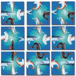 Sharks Marine Life Children's Puzzles