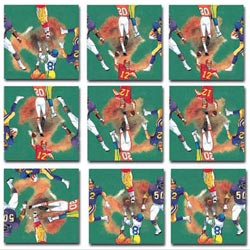 Football Sports Non-Interlocking Puzzle
