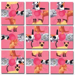 Kittens Cats Non-Interlocking Puzzle