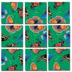 Butterflies Butterflies and Insects Non-Interlocking Puzzle