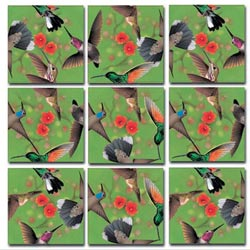 Hummingbirds Birds Children's Puzzles