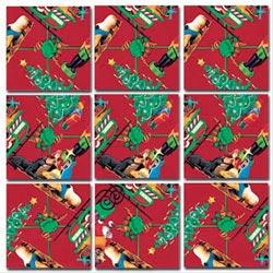 Christmas Christmas Non-Interlocking Puzzle