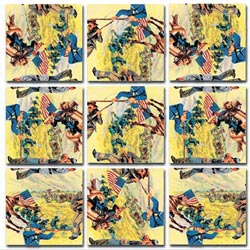 Civil War History Children's Puzzles