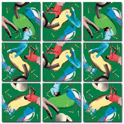 Golf Sports Non-Interlocking Puzzle