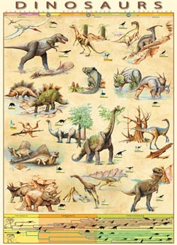 Dinosaurs Graphics / Illustration Jigsaw Puzzle