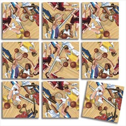 Hoops Sports Non-Interlocking Puzzle