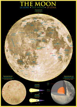 The Moon Space Jigsaw Puzzle