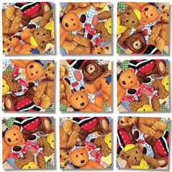 Teddy Bears Bears Non-Interlocking