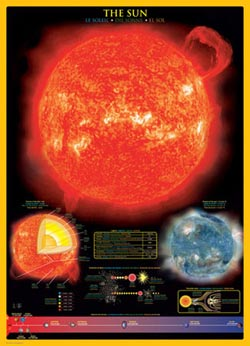 Sun Space Jigsaw Puzzle
