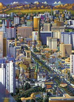 Las Vegas United States Jigsaw Puzzle