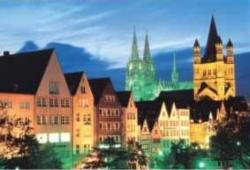 City Charms Churches Jigsaw Puzzle