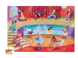 Travel Pouch Dance Dance Children's Puzzles