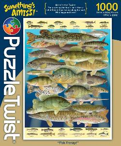 Fish Frenzy! Fish Jigsaw Puzzle