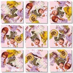 Dolls Everyday Objects Children's Puzzles