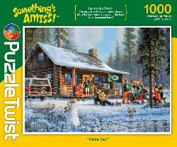 Game Day Cottage / Cabin Jigsaw Puzzle