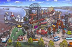 Canal Park - Duluth Travel Jigsaw Puzzle