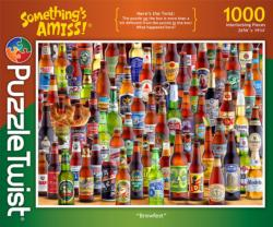Brewfest Adult Beverages Jigsaw Puzzle
