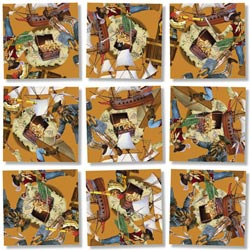 Pirates Pirates Non-Interlocking Puzzle