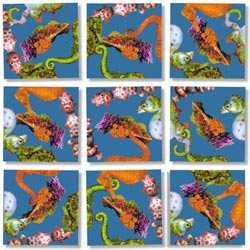 Seahorses Under The Sea Non-Interlocking Puzzle